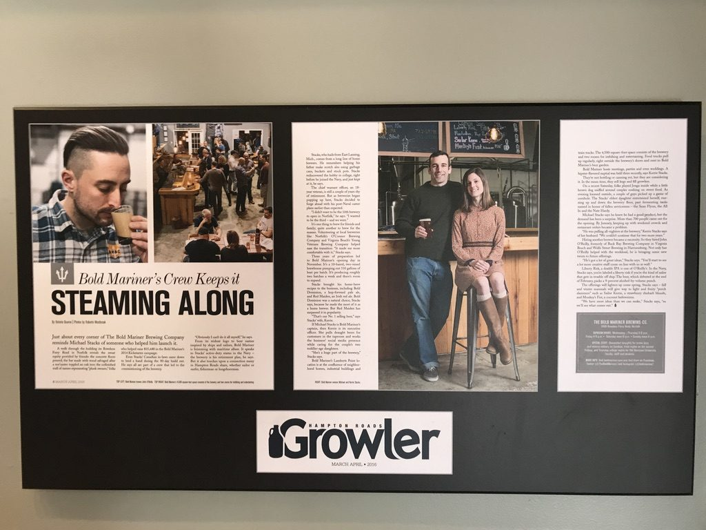 Growler Article